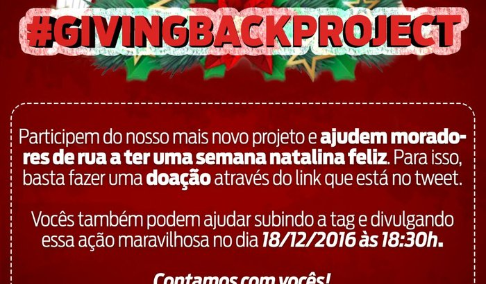 #GivingBackProject