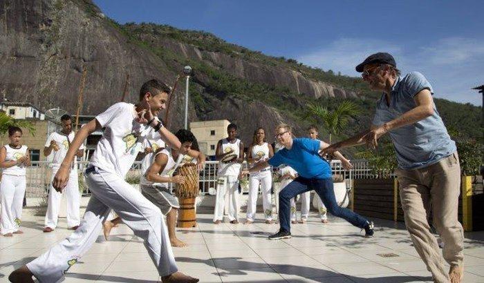 Natal Acorda da Capoeira