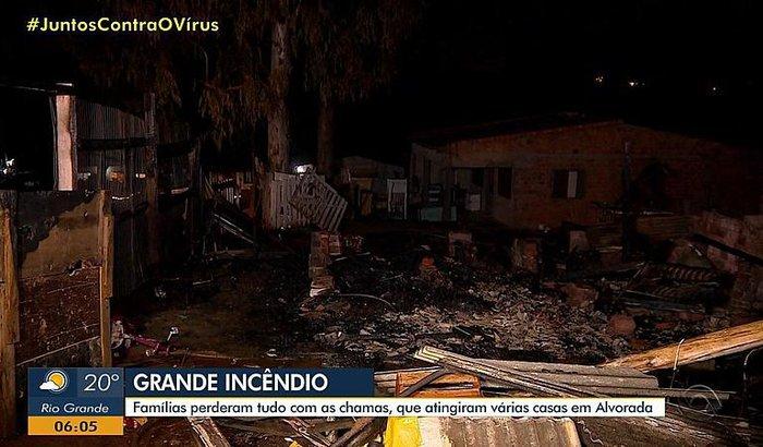 Ajude as famílias prejudicadas pelo incêndio em Alvorada