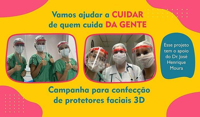 Protetores Faciais 3D - Recife PE