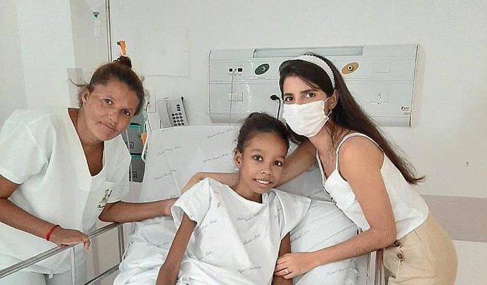 Ajuda para Kamille que tem Câncer e precisa de Cuidados
