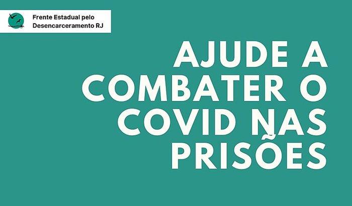 Combate ao Covid: doações para as unidades prisionais do RJ