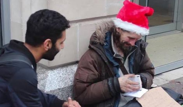 Cestas de Natal para famílias carentes
