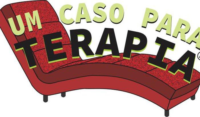 Montagem do espetáculo de teatro UM CASO PARA TERAPIA