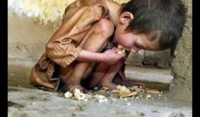 Não aguento ver meus irmãos passarem fome