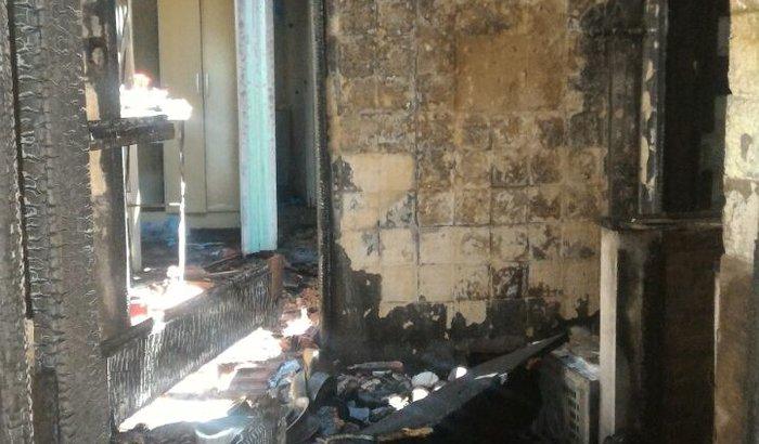 Ajuda - Casa pegou fogo em Santa Maria - RS
