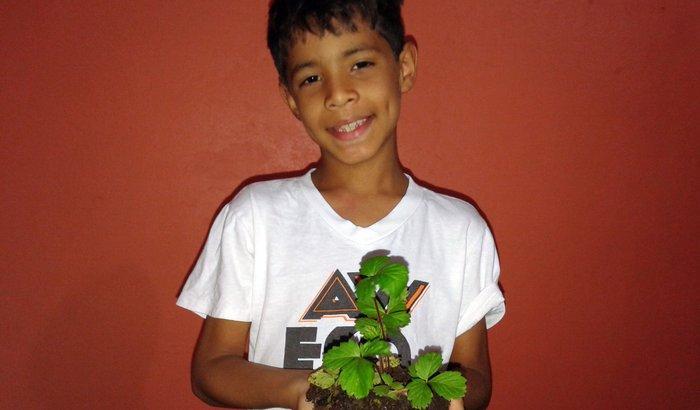 Oficina de iniciação em agroecologia para criança e adolescentes