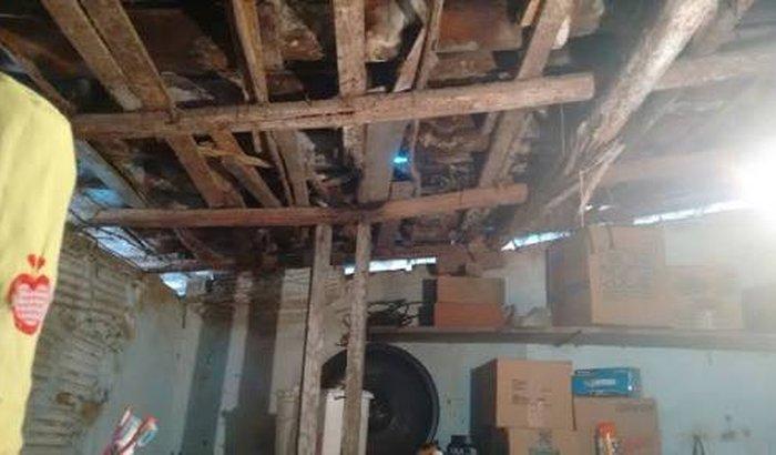 Cobertura do teto