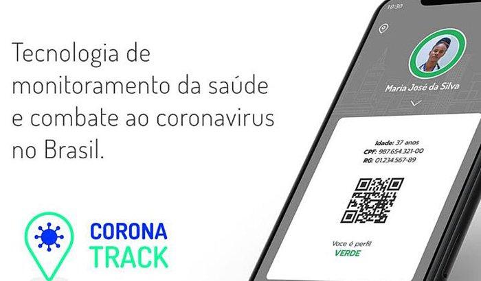 Aplicativo de monitoramento da saúde e combate ao coronavírus