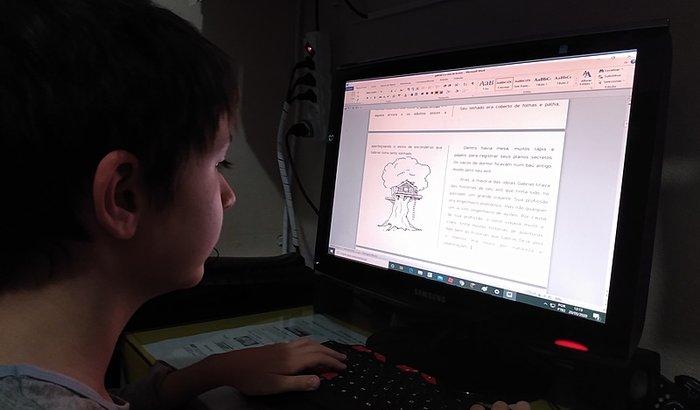 Ajude Samuel a ser um escritor