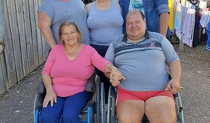 Cadeira de rodas elétrica para CRISTIAN