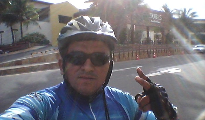 Troca de bicicleta