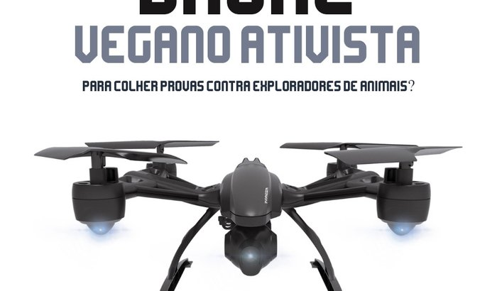 Drone Ativista para Denúncias de Exploração Animal