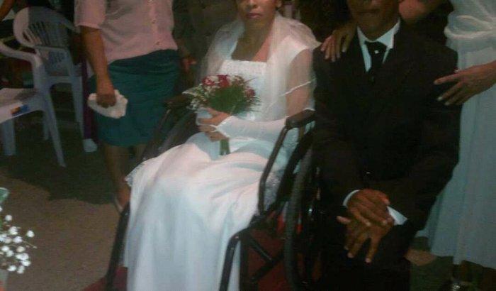 Compra cadeira de rodas motorizada para minha esposa