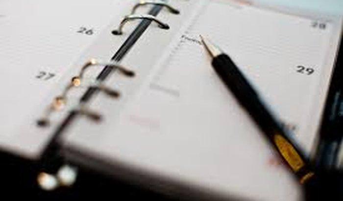 Agenda - para tentar organizar um ser humano desorganizado (eu)