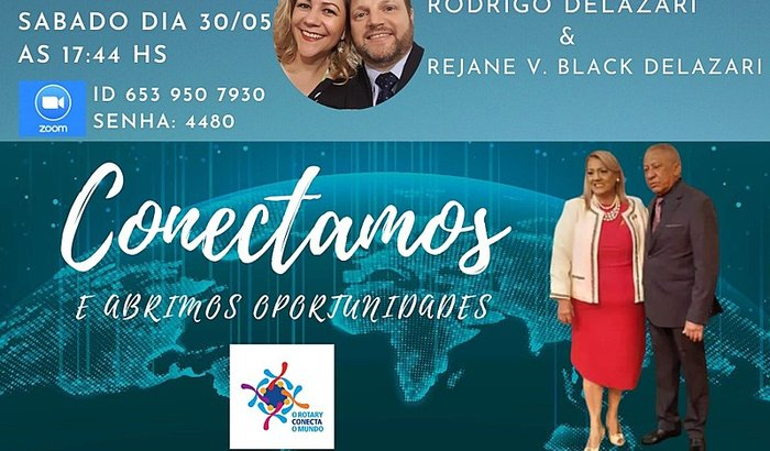 Posse Rejane & Rodrigo Rotary