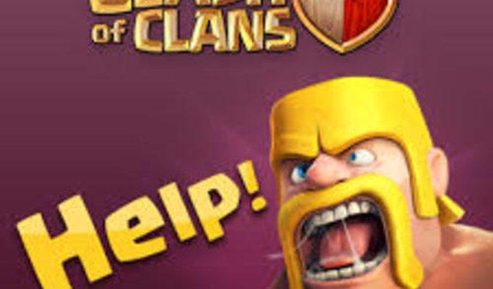 Ajuda no Clash of Clans