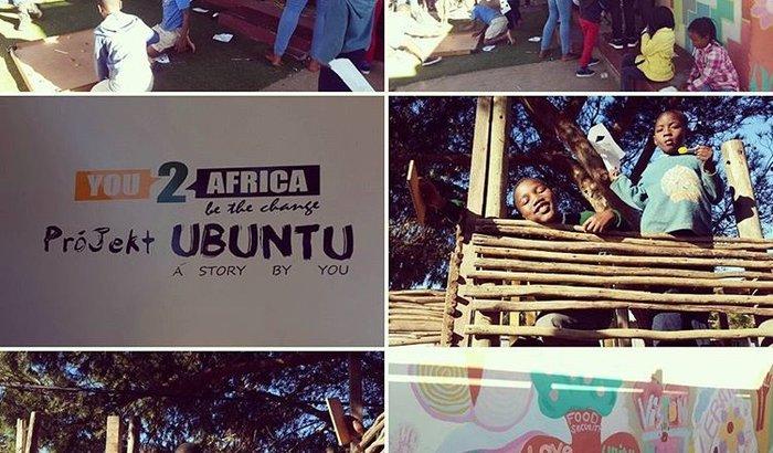 Trabalho voluntário na África