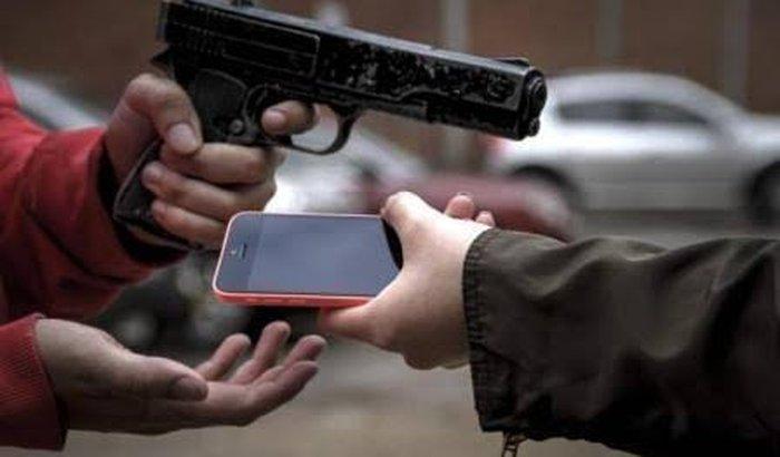 Roubaram meu celular e dos meus amigos