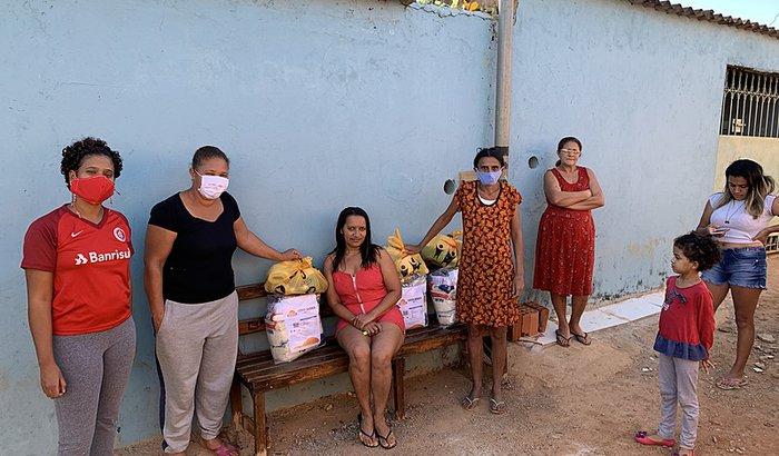 Ação de solidariedade para as famílias do Sol Nascente