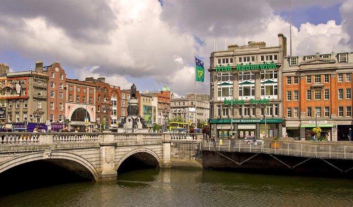 Neto estudando em Dublin!
