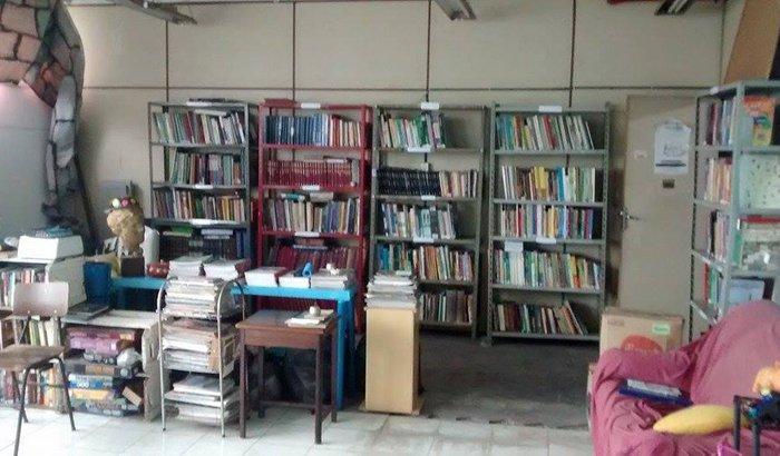 Reforma da biblioteca popular do ADEP