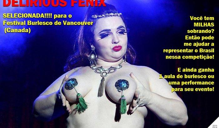 Brasil no Vancouver International Burlesque Festival