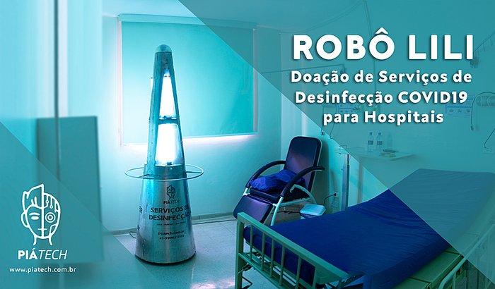 LILI - Doação de Serviço de Desinfecção COVID19 para Hospitais