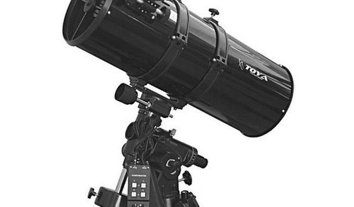 Um telescópio, para estudo de campo