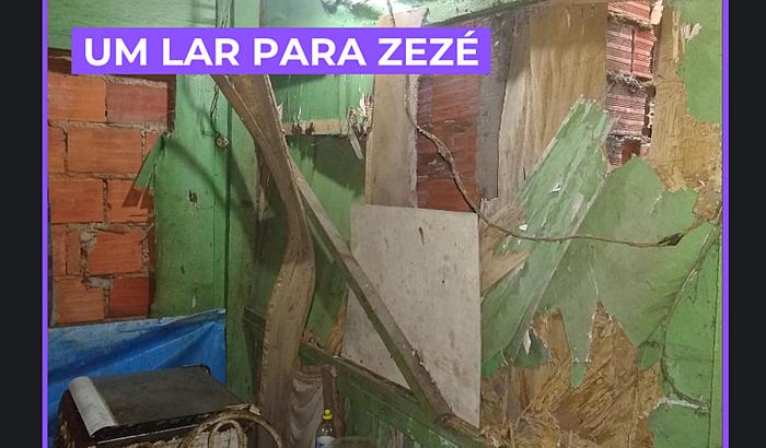 Um lar para Zezé | URGENTE