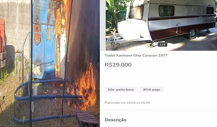 ajudar o artista do circo Barcelona comprar um trailer moradia