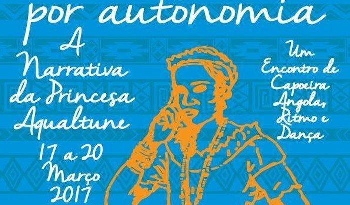 1ª Gingando por Autonomia- evento de capoeira Angola