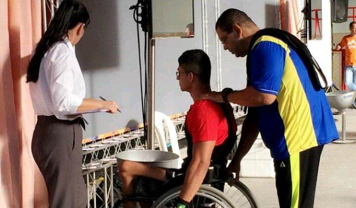Atleta deficiente precisando de apoio para viagem!