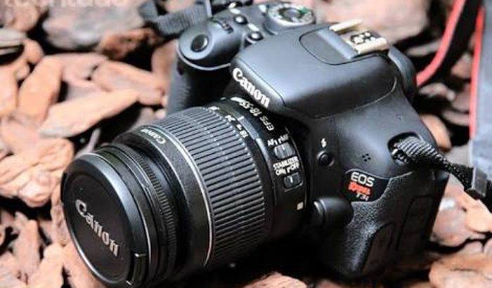 Câmera Profissional para Bruna