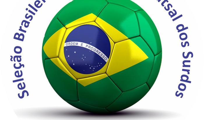 Seleção Brasileira Feminina de Futsal para Mundial dos Surdos 2015