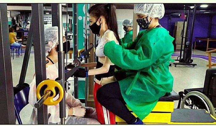 Vamos ajudar a Geisiane, para fazer as fisioterapia