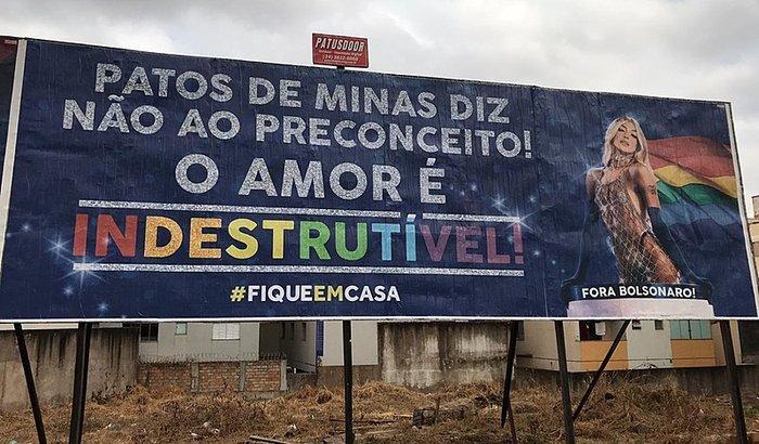 Patos de Minas também apóia o #FiqueEmCasa