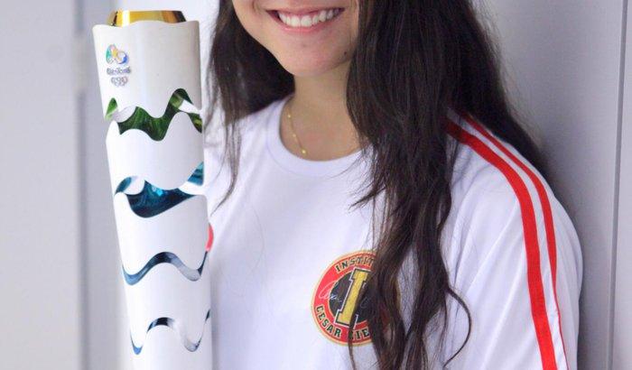 Natalia Amano no Mundial de Natação Estudantil - Budapeste 2017