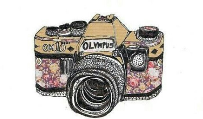 Minha câmera, meu sonho.♡