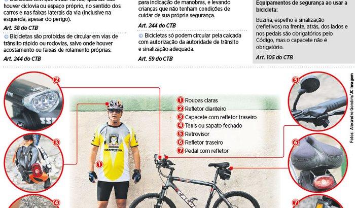 Equipamentos de ciclismo