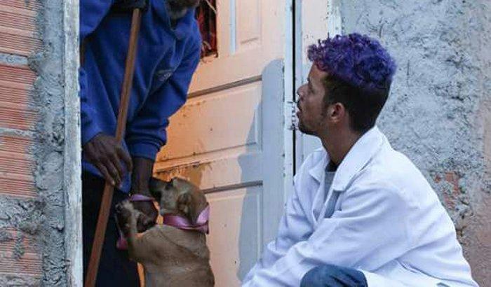 auxilio para os animais da comunidade da zona leste