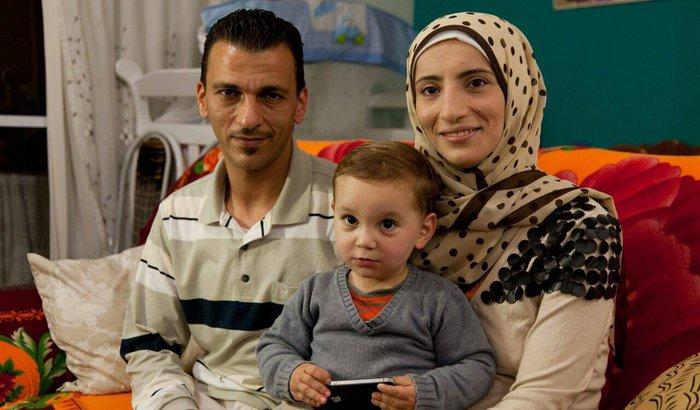 Razam - família de refugiados