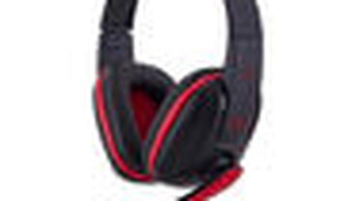 Headset Gamer Fortrek Spider Tarantula SHS702 Preto/Vermelho 542