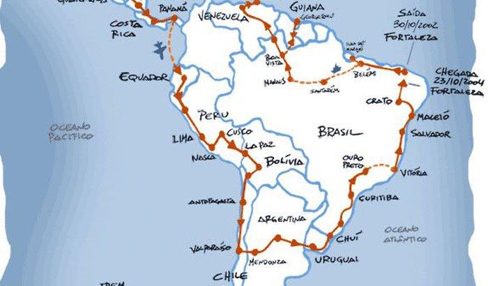 Viagem pela America Latina