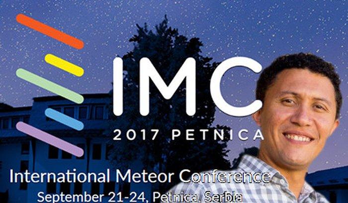Lauriston na Conferência Internacional sobre Meteoros