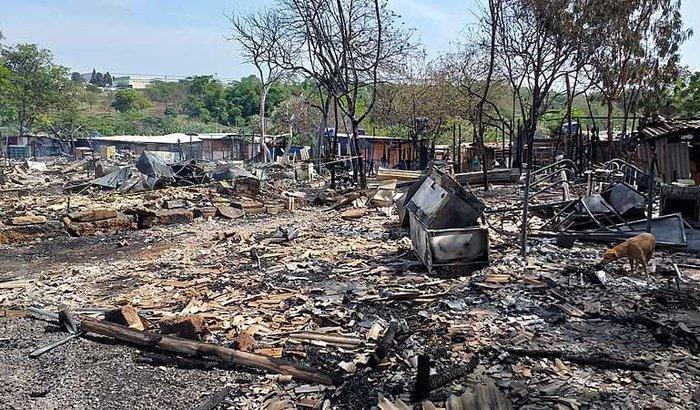 Ajude na reconstrução da ocupação Vila Paula