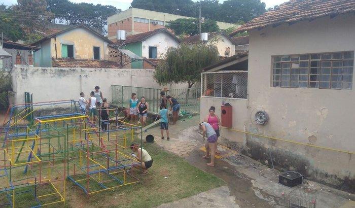 Revitalização da Creche Odete Valadares
