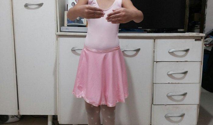 Apresentação da bailarina Raphaela