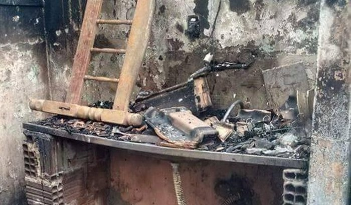 Família perde tudo em incêndio e pede ajuda