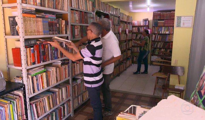 Biblioteca Comunitária Nélida Piñon / Comunidade Kelson's / RJ